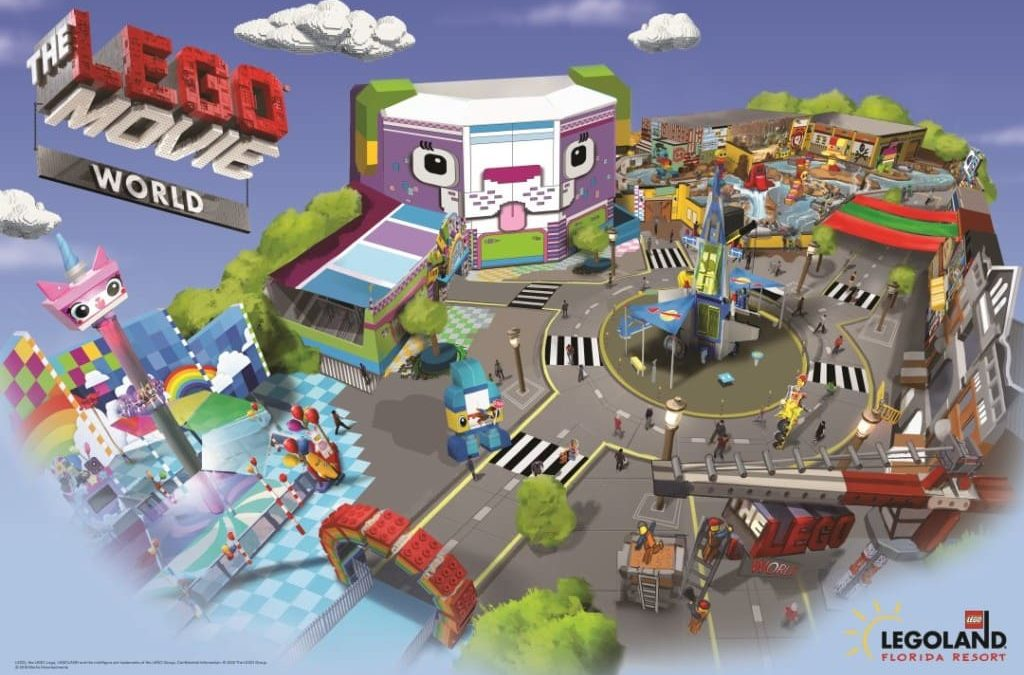 LEGOLAND Florida Resort Reveals Three New Ride Experiences to Debut in THE LEGO MOVIE WORLD