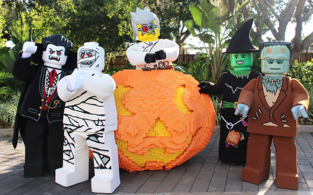 LEGOLAND Florida Brick or Treat Pumpkin