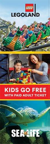LEGOLAND Florida Kids Go Free Coupon