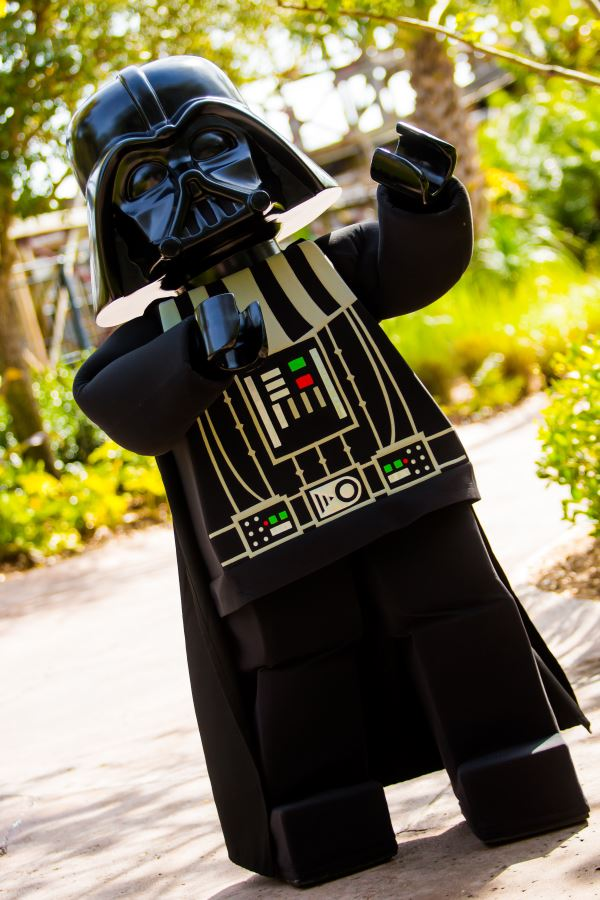LEGOLAND Florida Star Wars Days LEGO Darth