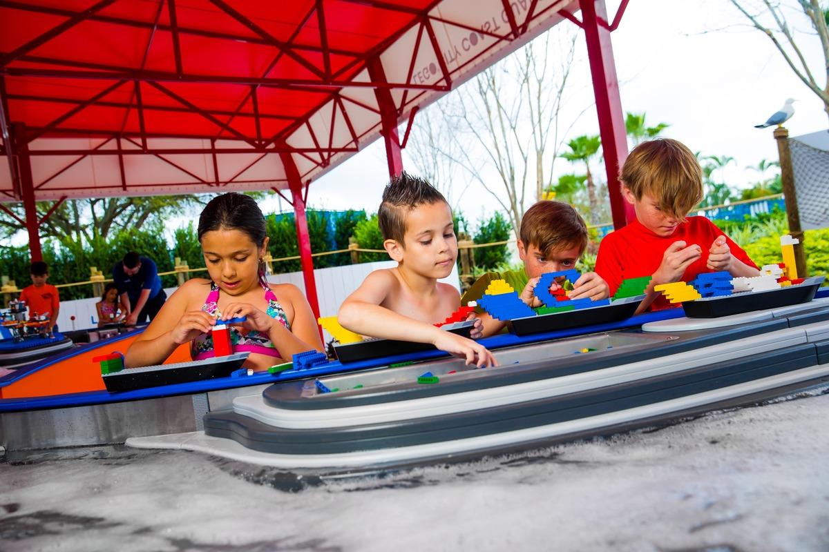 LEGOLAND Florida Water Park Build A Boat - Legoland in Florida