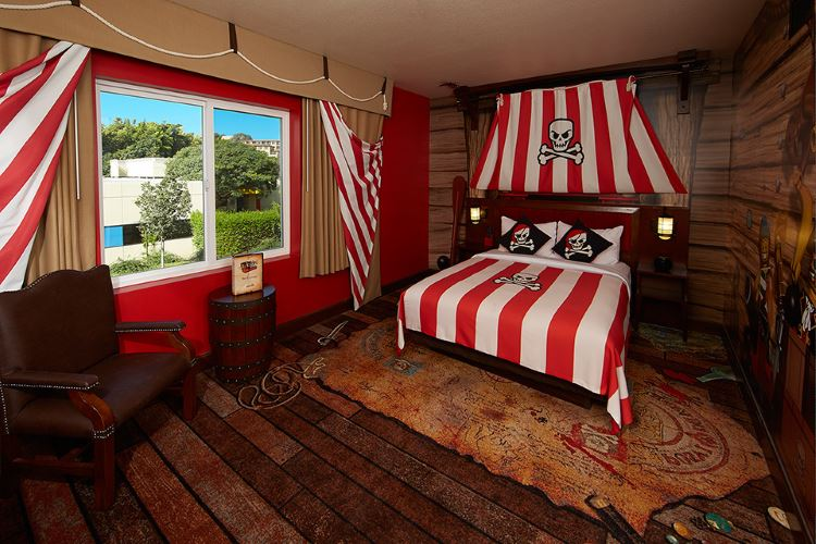 LEGOLAND Hotel Pirate Themed Room