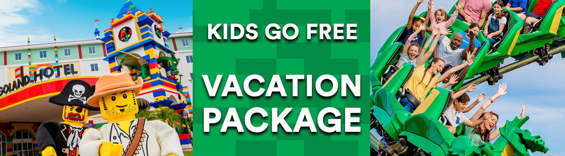 LEGOLAND Kids Go Free Vacation Package