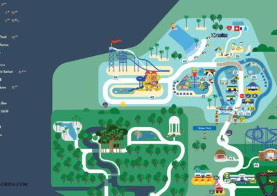 LEGOLAND Water Park Florida Map 2021