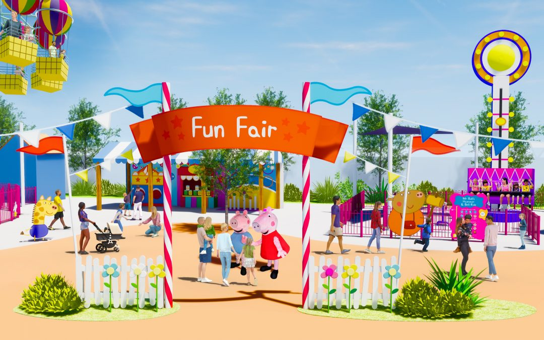 World's first Peppa Pig™ Theme Park to open at LEGOLAND® FLORIDA Resort in 2022